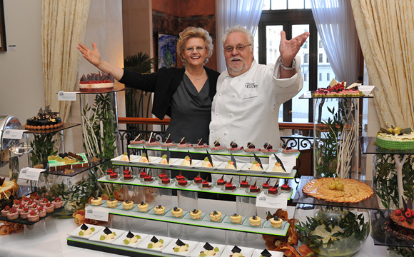 Ingrid Lemme & Walter Staib , Brunch - Adlon