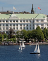 The Kempinski Hotel Atlantic, though partially under renovation, may still be considered Hamburg�s historic flagship hotel. A remarkable landmark in the heart of this special city since 1909, with gracious architectural details and...