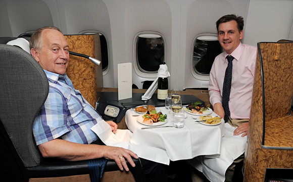 British Airways - First Class - Edmund & Thorsten B�hrmann