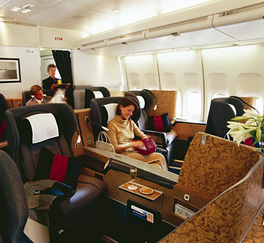 British Airways - First Class Cabin