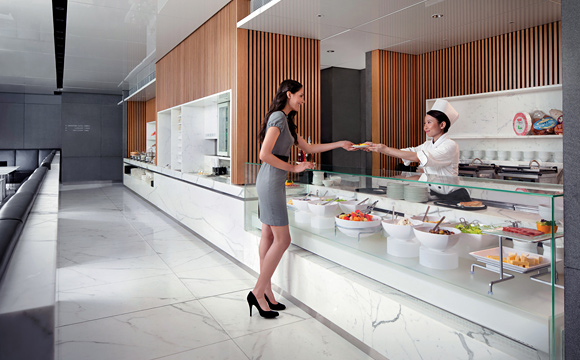 Cathay Pacific - Lounge