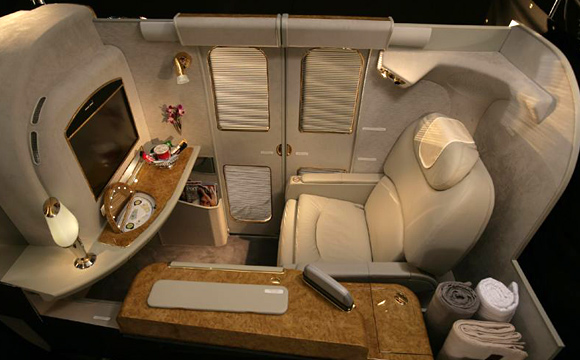 Emirates Airlines - First Class Suite - Overview