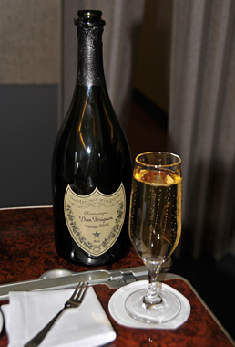 Emirates - First Class - Dom Perignon Vintage 2003