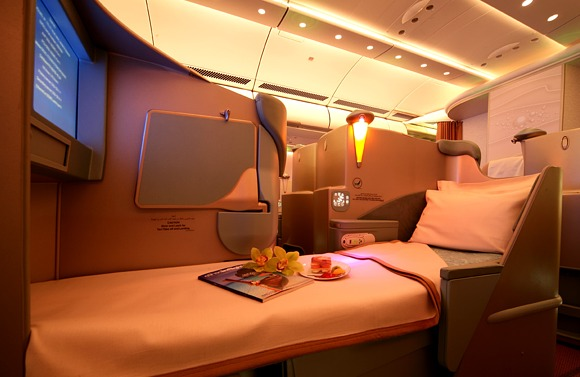 Etihad Airways - Pearl Zone - Business Class