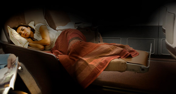 Iberia - Business Class - Sleeping