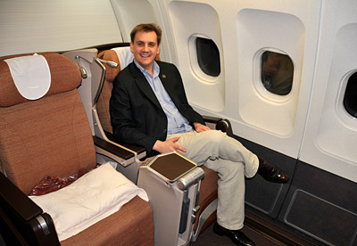 Iberia - Business Class - Thorsten Buehrmann