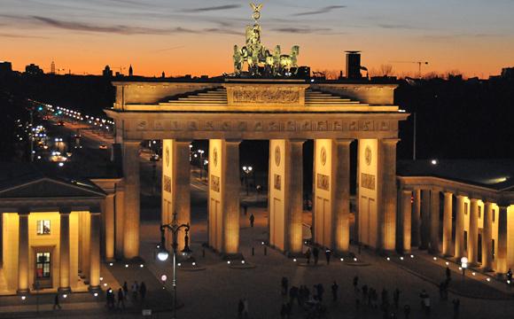Lorenz Adlon Esszimmer Brandenburger Gate