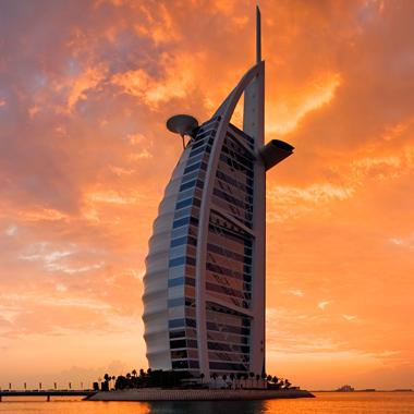 Burj al arab seven stars global hospitality awards for Burj al arab 7 star hotel