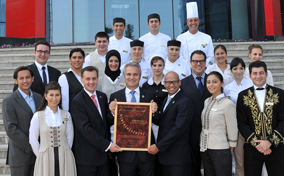 Jumeirah Bilgah Beach Hotel Seven Stars Global Hospitality Awards Follow Our Seven Stars Award Teams Travel Around The World Reviewing The Finest Establishments And Products Comparing These On A Basis