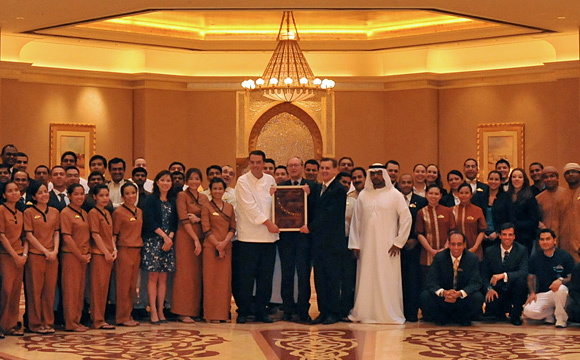 Emirates Palace - Seven Star - Award
