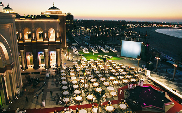 Emirates Palace - Auditorium - Terrace