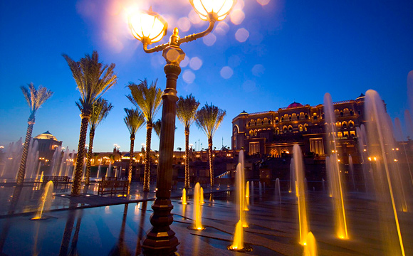 Emirates Palace - Fountains
