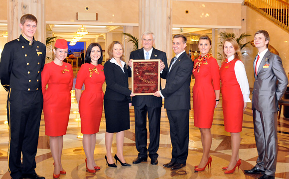 Radisson Royal Hotel Moscow - 2010 Seven Stars And Stripes Award