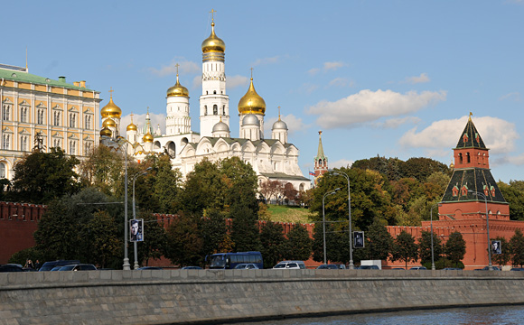 Radisson Royal Moscow - River Cruise View