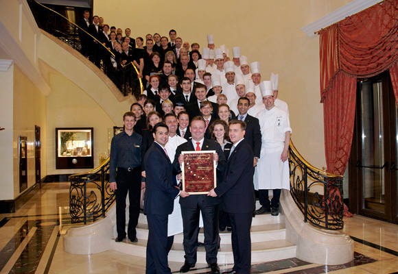 The Ritz Carlton Moscow - Seven Stars And Stripes - Award