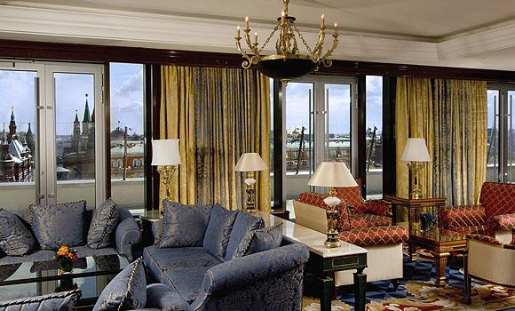 The RitzCarlton Moscow  Seven Stars global hospitality awards